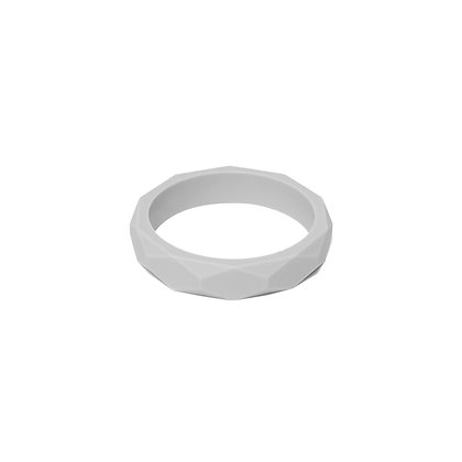 Lara & Ollie Teething Bangle - Stone