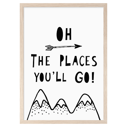 The Places You'll Go! A3 Print