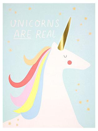 Unicorn & Rainbow - 2 Prints (30x40)