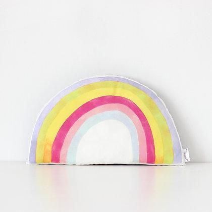 Rainbow Cushion - Pastel
