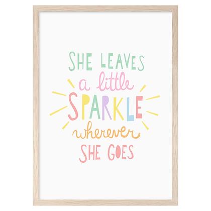 Sparkle A3 Print