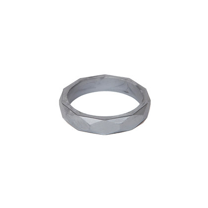 Lara & Ollie Teething Bangle - Pewter
