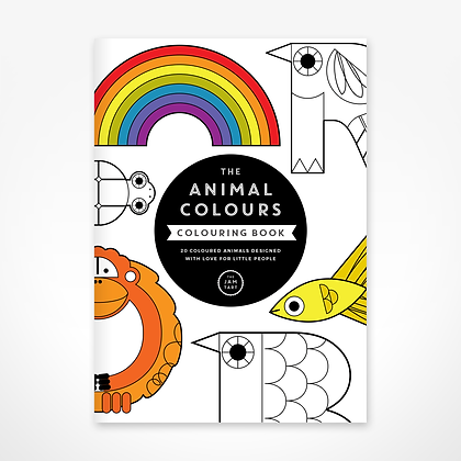 Colouring Book - Animal Colours