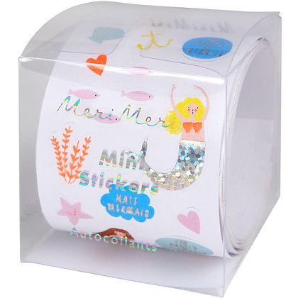 Mini Mermaid Sticker Roll