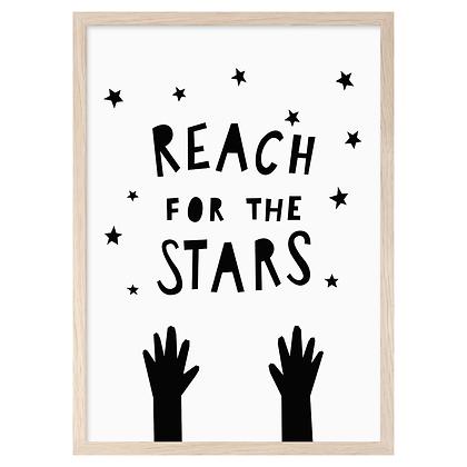Reach For The Stars A3 Print