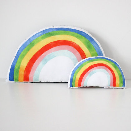 Rainbow Cushion - Bright