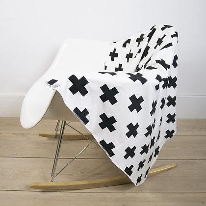 Blanket - White Cross