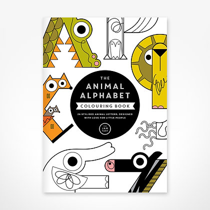 Colouring Book - Animal Alphabet