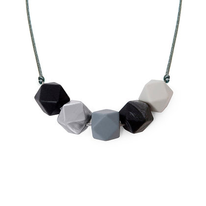 Lara & Ollie Teething Necklace - Luna