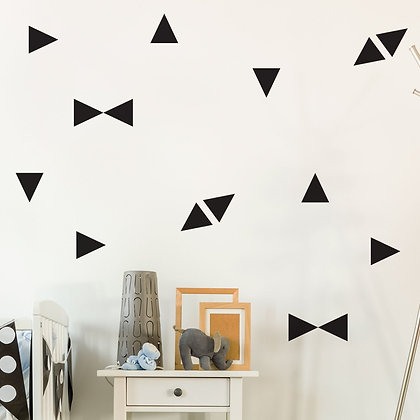 Triangle Wall Stickers - Various colours