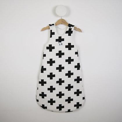 Sleeping Bag - White Cross 0-6 months