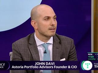 Astoria Interviewed by Yahoo! Finance TV