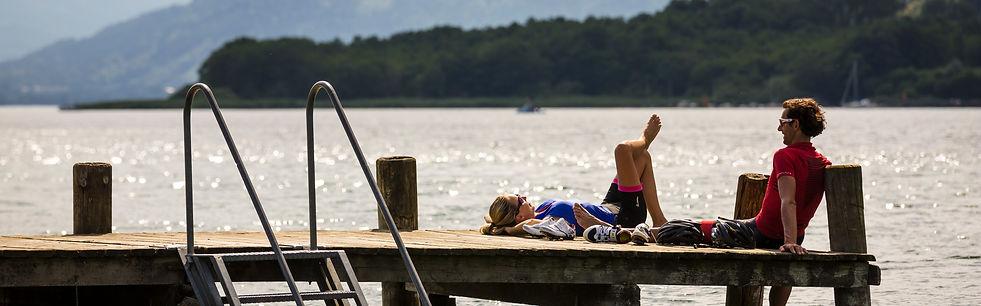 Urlaubsfeeling Pension Strauß