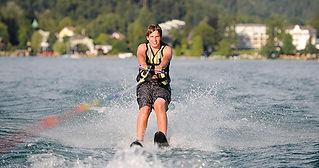 Wassersport im Strandhotel Kärntnerhof