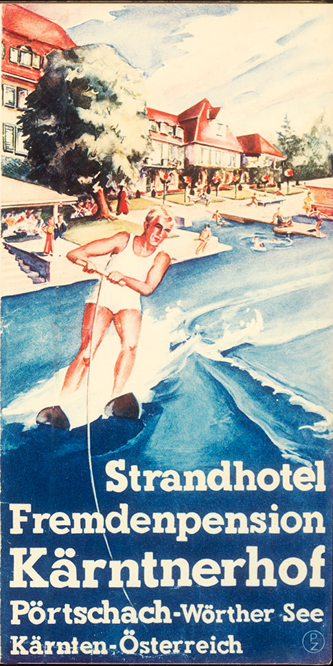 vintage poster kärntnerhof
