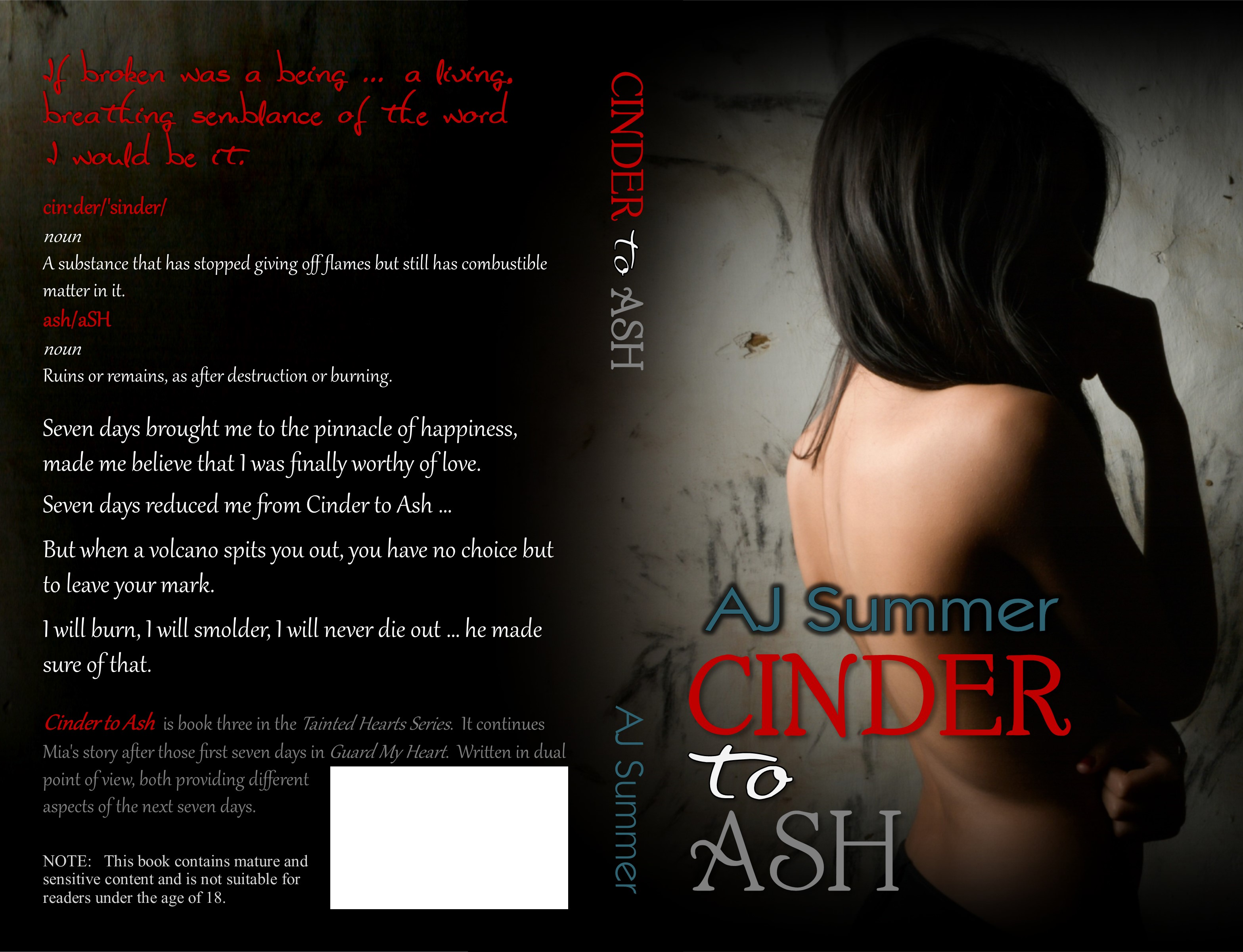 Cinder to Ash full wrap cover