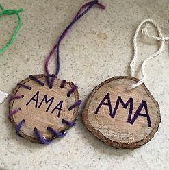 AMA alum John's handiwork at Kids Kabin.