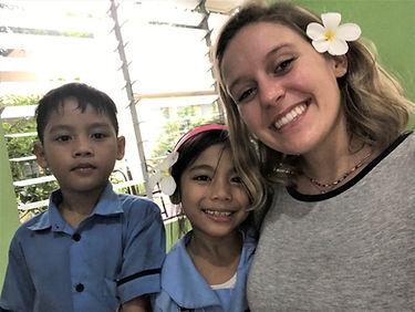 Kathryn and children.JPG