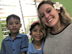 Kathryn and children