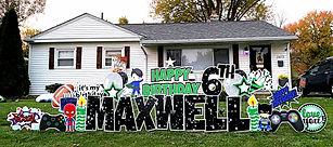 Super Hero birthday sign Upper Arlington, Ohio