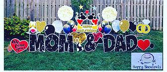 Anniversary Yard Greeting Columbus Ohio