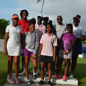 Ashley Michel wins the 2018 Brice & Newball Foundation Golf Shootout