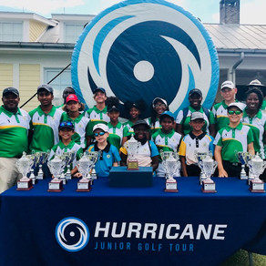 17 Junior Golfers representing FCGA return after participating in the 5th Annual Academy Cup