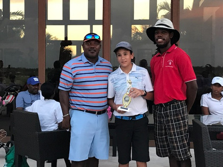 Diego Azar wins the 2018 Royal Fidelity Junior Golf Open at Albany