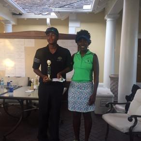 Aharon Bastian wins the 2017 Ocean Summer golf classic.