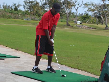 Matthew Deveaux wins the Record Match 100 Golf Tournament