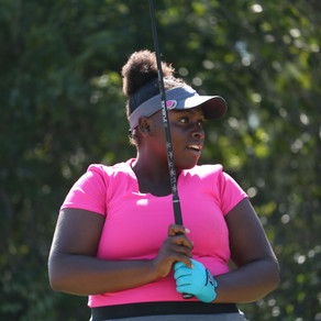 Ashley Michel earns the first win of the 2019 Season at the Abaco Junior Golf Championships