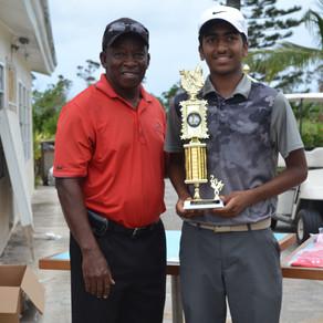 Saketh Hegde wins the 1st Annual Grand Bahama Junior Open