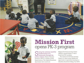 Mission First Opens PK-3 Program