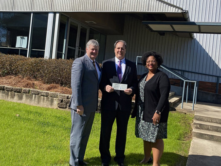 Century Club Charities Donates to Legal Aid and Peyton's House