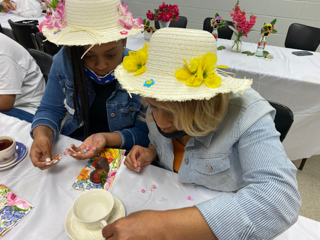 Mother/Daughter Tea Party