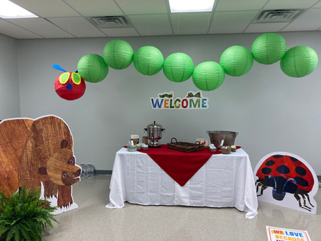 """""""Eric Carle Theme"""" at our Early Learning Center"""