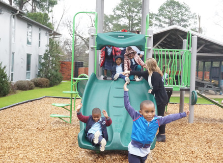 Mission First's New Playground Ribbon Cutting