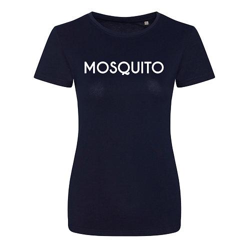 Mosquito women's organic t-shirt Navy