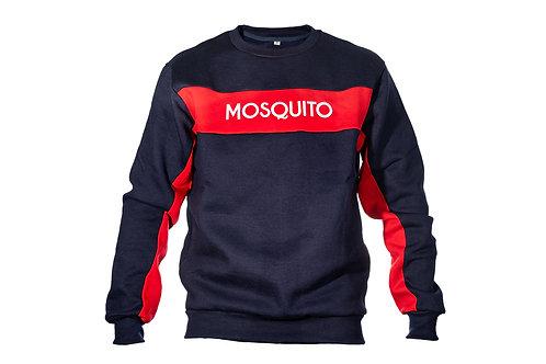Mosquito Navy Red Sweatshirt