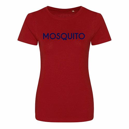 Mosquito women's organic t-shirt Red