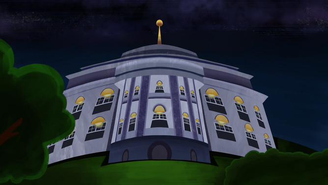 "White House Scene - ""Daughter's Night"""