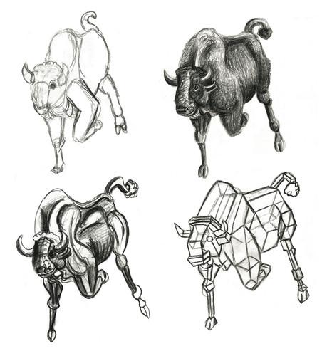 Bull Different Methods