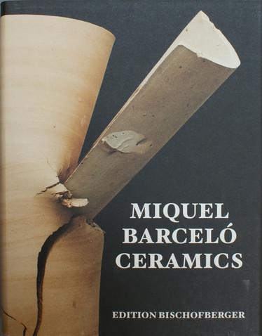 Miquel Barceló –  Ceramics