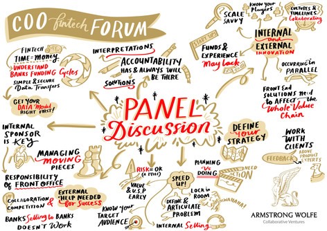 COO FinTech Forum - Panel Live Scribe.jp