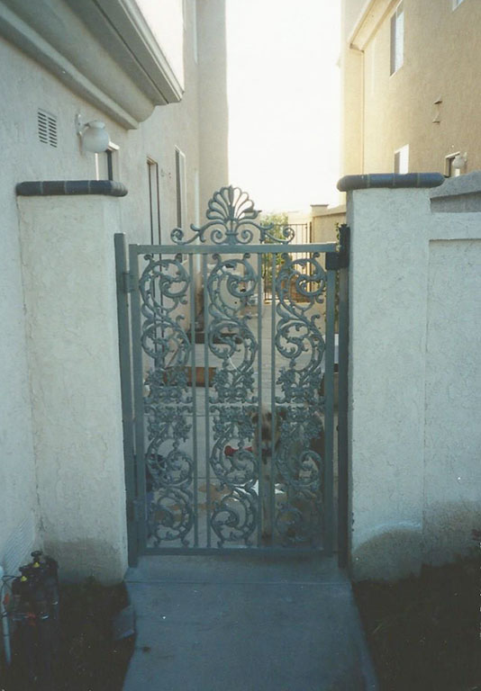 Custom French Iron Gate