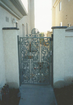 Custom French Iron Gate