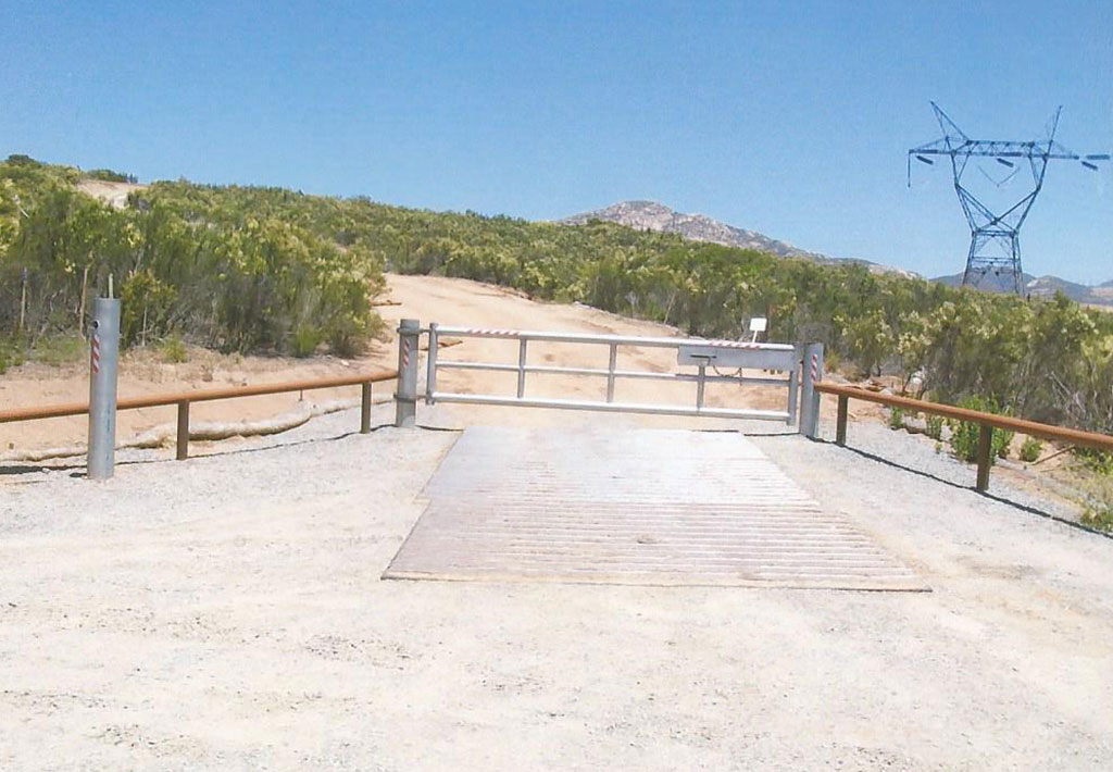 Commercial Restricted Access Gate