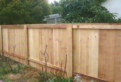 Sandwich Fence Wood (back)