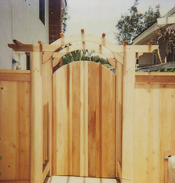 Custom Wood Arbor