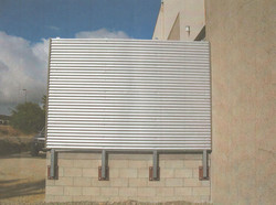 Commercial Corrugated Wall